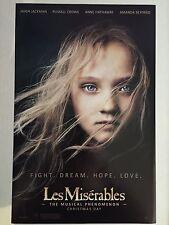 Les Miserables (2012) 11 x 17 Movie Poster, Anne Hathaway, Hugh Jackman, A