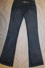 FRANKIE B very stretchy retro flare butterfly back pockets jeans 2