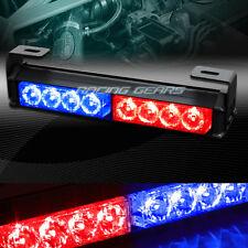 "9.5"" LED RED/BLUE TRAFFIC ADVISOR EMERGENCY WARN FLASH STROBE LIGHT UNIVERSAL 9"