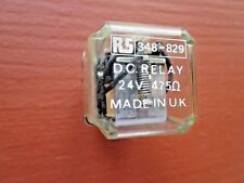 RS Relay Service 348-829 Relay 24V 475 Ohms 11-Pin