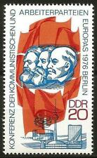 Germany (East) DDR GDR 1976 MNH European Communist Parties Marx Engels Lenin