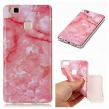 Granite Marble Pattern Slim Soft TPU Case Cover For Huawei P8 P9 P10 Lite 2017
