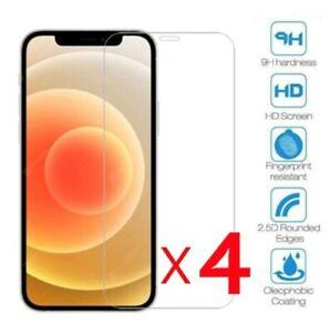 Film Verre Trempe Vitre Protection écran iPhone 11/12/Pro/Max/XR/XS/8/7/6S/SE 20