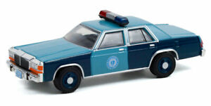 GREENLIGHT - MASSACHUSETTS STATE POLICE - 1981 FORD LTD CROWN VICTORIA [PREORDER