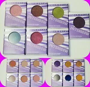 Urban Decay  24/7 Eyeshadow Singles 1.8g Poids Authentic NIB Choose Your Match!