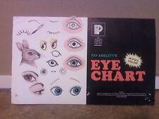 Faye Abblett's Eye Chart in full color  Ceramics How-to Eye Chart from 1983