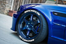 """TIRE LETTERS - Michelin - 1.5"""" For 17"""" and 18"""" Wheels (4 decal kit) Stickers"""