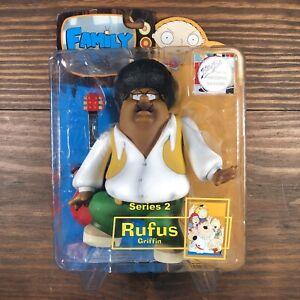 Family Guy Rufus Griffin Action Figure MIB Series 2 Mezco Toys 2005