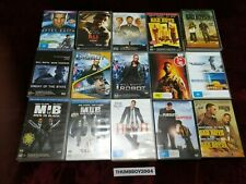 Will Smith DVD BULK MOVIE Collection Choose film titles from Dropdown