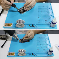 Soldering Repair Maintenance Platform Heat Insulation Silicone Station Pad 35*25