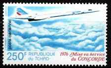 CHAD 1976 - AIRMAIL / FIRST FLIGHT OF CONCORDE 250 Frs  MNH
