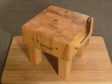 Kimball Mini Butcher Wood Chopping Block Salesman Sample