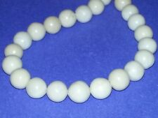 Wholesale 10MM Natural Fossil Stone Beads Round Spacer Loose Beads About 36pc.