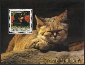 São Tomé & Príncipe 2003 - Mi-Nr. ? ** - MNH - Katzen, Hunde / Cats, Dogs (III)