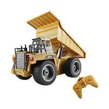 fisca RC Truck 6 Ch 2.4G Alloy Remote Control Dump Truck 4 Wheel Driver Mine ...