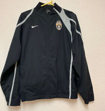 Nike FC Juventus Soccer Football Full Zip Jacket Sz Large Excellent Conditions