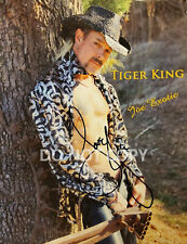Joe Exotic Tiger King reprint signed 8x10 shirtless photo RP