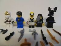 Genuine NINJAGO LEGO Minifigure Bundles various characters and accessories