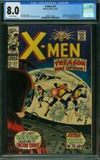X-Men #37 CGC 8.0 -- 1967 -- 1st app Mutant-Master. Blob Vanisher. #0360113028