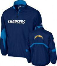 GENUINE REEBOK NFL CHARGERS ONFIELD HOT LAUNCH JACKET COAT LARGE NEW VINTAGE NEW