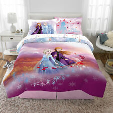 Frozen 2 Kids Bed in a Bag Bedding Reversible Comforter Spirit of Nature Full