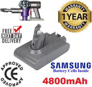 4800mAh FOR DYSON V6 BATTERY,ANIMAL,DC58,DC59,DC62 SV03,SV05 SV06,Absolute FAST