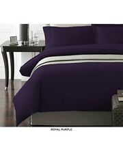 New York Collection Micro Solid Premier Quality Bedding Heavy Weight Duvet Set