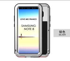 Coque antichoc blindée SAMSUNG Galaxy NOTE 8  Etanche - LOVE MEI FRANCE - Gris