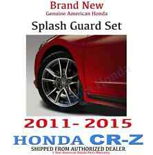 Genuine OEM Honda CR-Z Splash Guard Set  2011 - 2015 (08P00-SZT-100)