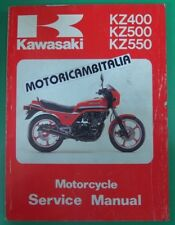 KAWASAKI GPZ550 Z400 Z500 Z550 MANUALE OFFICINA MANUAL WORK SHOP SERVICE REPAIR
