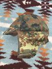 German Army Flecktarn Camo Winter Cap,Euro Size 60-62-U.S.7 1/4-7 1/2,v.g.cond.