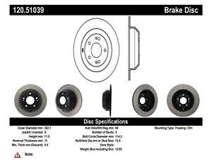 StopTech For 10-19 Hyundai Santa Fe / 2014 Kia Sorento Disc Brake Pre. 120.51039