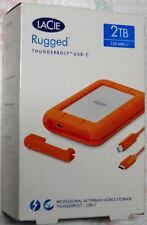 LaCie 2TB Rugged Thunderbolt / USB-C Mobile External Hard Drive,