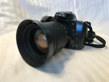 Minolta Maxxum 400si 35mm SLR Film Camera w/ Tamron AF 28-200mm Aspherical Lens