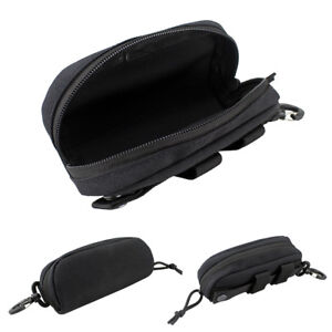 Portable Glasses Case Glasses Shockproof Protective Box Molle Sunglasses Pouch