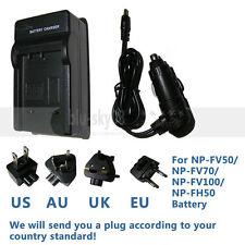 Battery Charger for Sony HandyCam DCR-SR DCR-SR30E DCR-SR65 DCR-SR67 DCR-SR300E