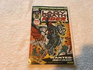 LADY DEATH RIDER 1 Pin Up edition cover 252 of 666  signed Brian Pulido coffin