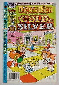 Richie Rich Gold and Silver #26 (1979 Harvey Comics) VF+ 8.5