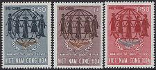 VIETNAM du SUD N°261/263** , 1965 South Viet Nam Sc#258-260 MNH