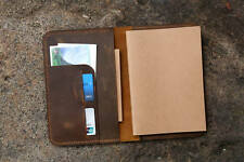 Vintage Leather A5 Journal Writing Notebook / leather A5 refillable travel diary