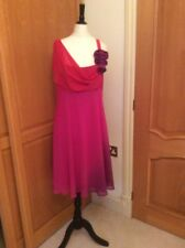 DEBUT. COCKTAIL  / SPECIAL OCCASION. DRESS SIZE 12  RED PINK PURPLE    DIFFERENT