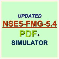 Fortinet FortiManager 5.4 Specialist Test NSE5-FMG-5.4 Exam QA PDF+Simulator