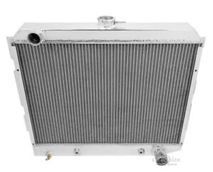 1971-1973 Plymouth Satellite Aluminum 3 Row Champion Radiator 318 V8