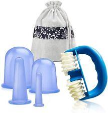 Schröpfen Gesicht Cupping,cellulite roller set,massage cupping set