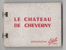 DÉPLIANT TOURISTIQUE TOURISME SOUVENIR ALBUM Ed. Estel Le Château de Cheverny