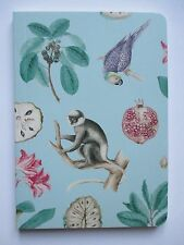 aa Monkey Parrot SOFT COVER JOURNAL pocket travel blank book diary dream sketch