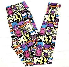 Buttery Soft Monster Zombie Emoji Legging Tall & Curvy XL Emoji Panda PAC Man TC