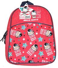 ELVIS HELLO KITTY JUNIOR BACKPACK CHILDS KIDS RUCKSACK SCHOOL NURSERY BAG BNWT