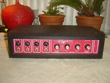 Regal RE 191PA, 4 Channel Mixer Power Amp with Spring Reverb & Eq, Vintage Unit