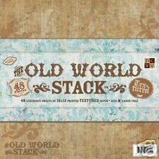 """12""""x12"""" The Old World Paper Stack Scrapbooking DCWV"""